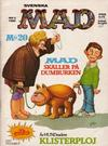 Cover for Mad (Semic, 1976 series) #5/1980