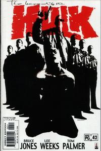 Cover Thumbnail for Incredible Hulk (Marvel, 2000 series) #42