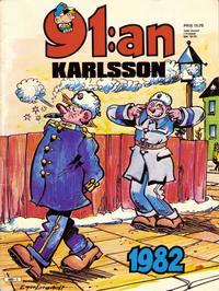 Cover Thumbnail for 91:an Karlsson [julalbum] (Semic, 1981 series) #1982