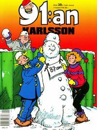 Cover Thumbnail for 91:an Karlsson [julalbum] (Semic, 1981 series) #[1991]