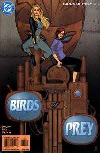 Cover for Birds of Prey (DC, 1999 series) #38