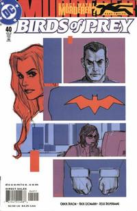 Cover Thumbnail for Birds of Prey (DC, 1999 series) #40