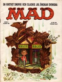 Cover Thumbnail for Mad (Williams Förlags AB, 1960 series) #2/1960