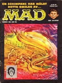 Cover Thumbnail for Mad (Williams Förlags AB, 1960 series) #2/1961