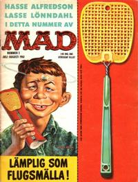 Cover Thumbnail for Mad (Williams Förlags AB, 1960 series) #3/1961