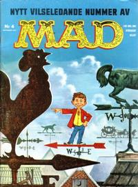 Cover Thumbnail for Mad (Williams Förlags AB, 1960 series) #4/1961