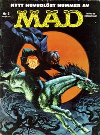Cover Thumbnail for Mad (Williams Förlags AB, 1960 series) #5/1961