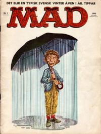 Cover Thumbnail for Mad (Williams Förlags AB, 1960 series) #1/1962
