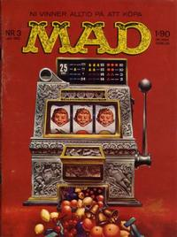 Cover Thumbnail for Mad (Williams Förlags AB, 1960 series) #3/1962
