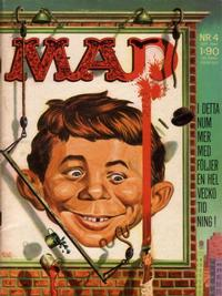 Cover Thumbnail for Mad (Williams Förlags AB, 1960 series) #4/1962