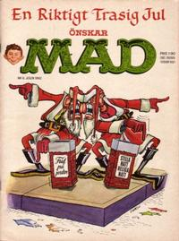 Cover Thumbnail for Mad (Williams Förlags AB, 1960 series) #6/1962