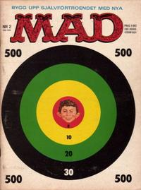 Cover Thumbnail for Mad (Williams Förlags AB, 1960 series) #2/1963