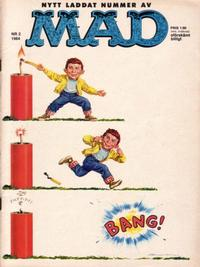 Cover Thumbnail for Mad (Williams Förlags AB, 1960 series) #2/1964