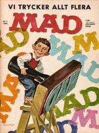 Cover Thumbnail for Mad (Williams Förlags AB, 1960 series) #4/1964
