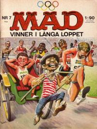 Cover Thumbnail for Mad (Williams Förlags AB, 1960 series) #7/1964