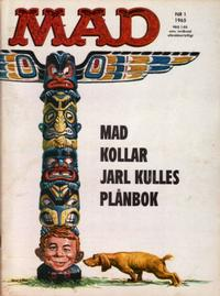 Cover Thumbnail for Mad (Williams Förlags AB, 1960 series) #1/1965