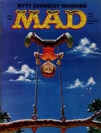 Cover Thumbnail for Mad (Williams Förlags AB, 1960 series) #5/1965
