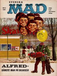 Cover Thumbnail for Mad (Williams Förlags AB, 1960 series) #8/1965
