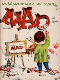 Cover Thumbnail for Mad (Williams Förlags AB, 1960 series) #1/1966