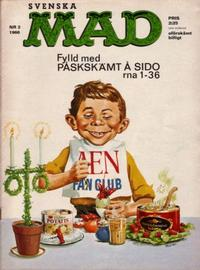 Cover Thumbnail for Mad (Williams Förlags AB, 1960 series) #2/1966