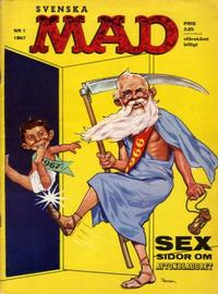 Cover Thumbnail for Mad (Williams Förlags AB, 1960 series) #1/1967