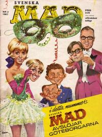 Cover Thumbnail for Mad (Williams Förlags AB, 1960 series) #2/1967