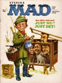 Cover Thumbnail for Mad (Williams Förlags AB, 1960 series) #4/1967