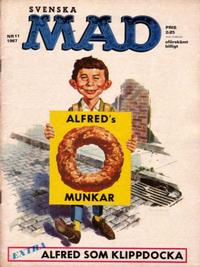 Cover Thumbnail for Mad (Williams Förlags AB, 1960 series) #11/1967