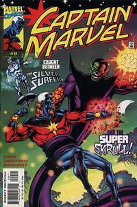 Cover Thumbnail for Captain Marvel (Marvel, 2000 series) #9 [Direct Edition]