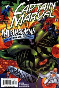 Cover Thumbnail for Captain Marvel (Marvel, 2000 series) #10 [Direct Edition]