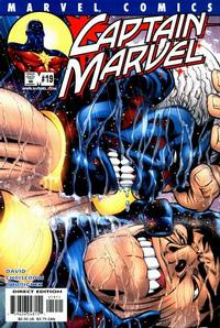 Cover Thumbnail for Captain Marvel (Marvel, 2000 series) #19 [Direct Edition]