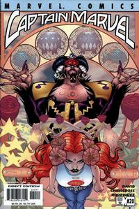 Cover Thumbnail for Captain Marvel (Marvel, 2000 series) #20 [Direct Edition]