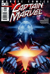 Cover Thumbnail for Captain Marvel (Marvel, 2000 series) #22 [Direct Edition]