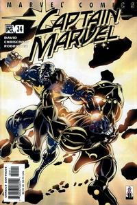 Cover Thumbnail for Captain Marvel (Marvel, 2000 series) #24 [Direct Edition]