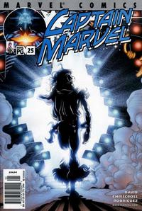 Cover Thumbnail for Captain Marvel (Marvel, 2000 series) #25 [Direct Edition]