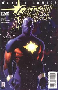 Cover Thumbnail for Captain Marvel (Marvel, 2000 series) #32 [Direct Edition]
