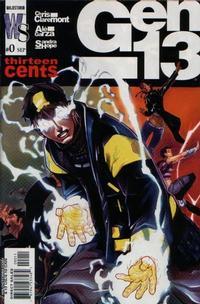 Cover Thumbnail for Gen 13 (DC, 2002 series) #0 [Alé Garza - Sandra Hope Cover]