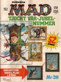 Cover Thumbnail for Mad (Semic, 1976 series) #3/1980