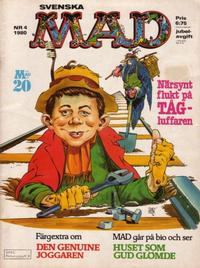Cover Thumbnail for Mad (Semic, 1976 series) #4/1980