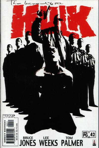 Cover for Incredible Hulk (Marvel, 2000 series) #42