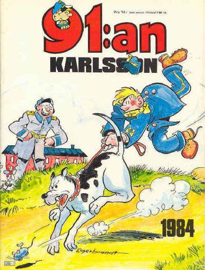 Cover for 91:an Karlsson [julalbum] (Semic, 1981 series) #1984