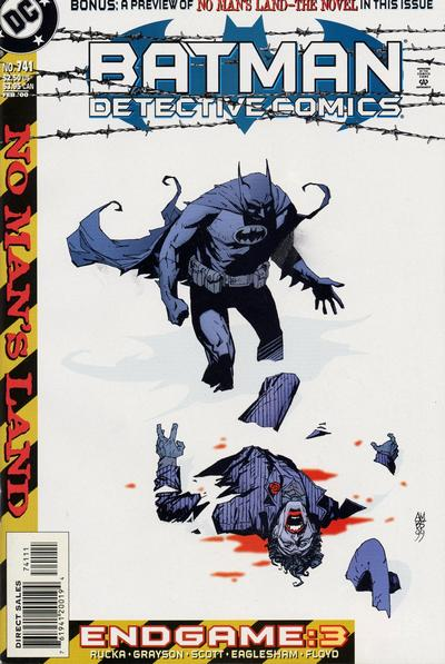 Cover for Detective Comics (DC, 1937 series) #741