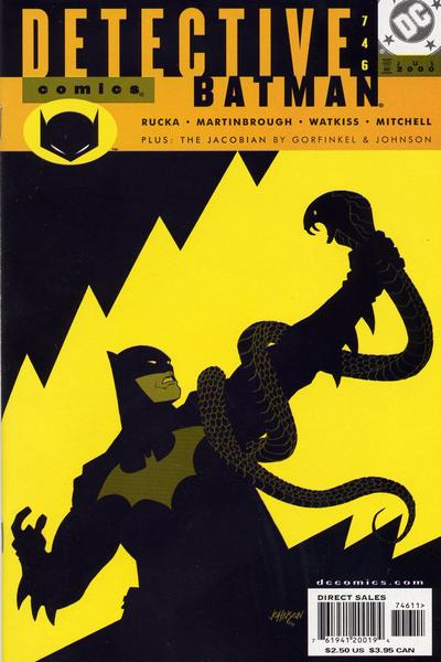 Cover for Detective Comics (DC, 1937 series) #746 [Direct Sales]