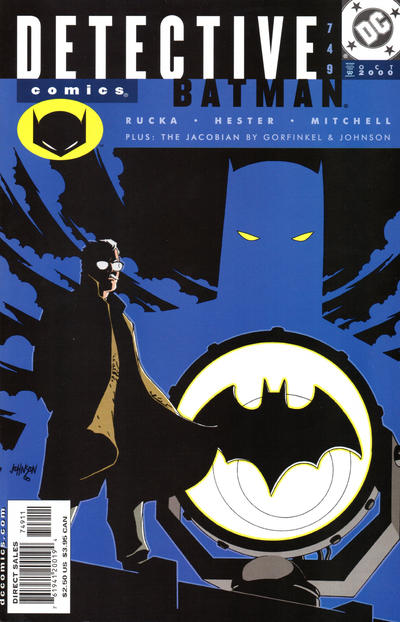 Cover for Detective Comics (DC, 1937 series) #749 [Direct Edition]