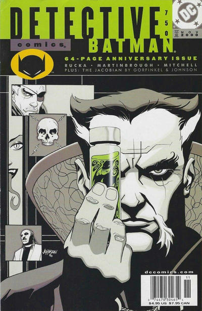 Cover for Detective Comics (DC, 1937 series) #750 [Direct Edition]