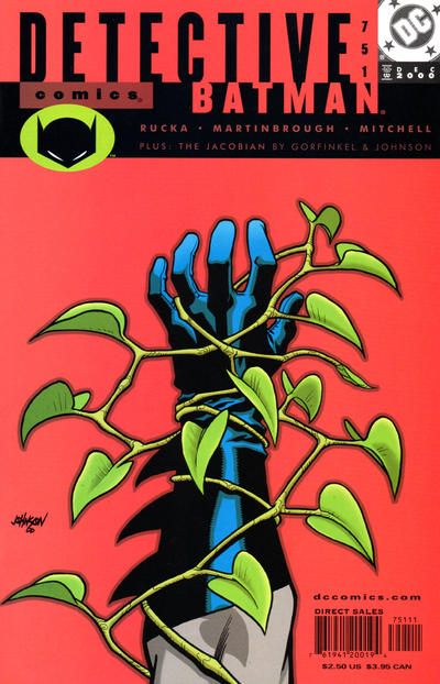 Cover for Detective Comics (DC, 1937 series) #751 [Direct Sales]