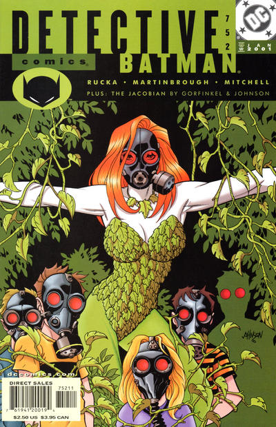 Cover for Detective Comics (DC, 1937 series) #752
