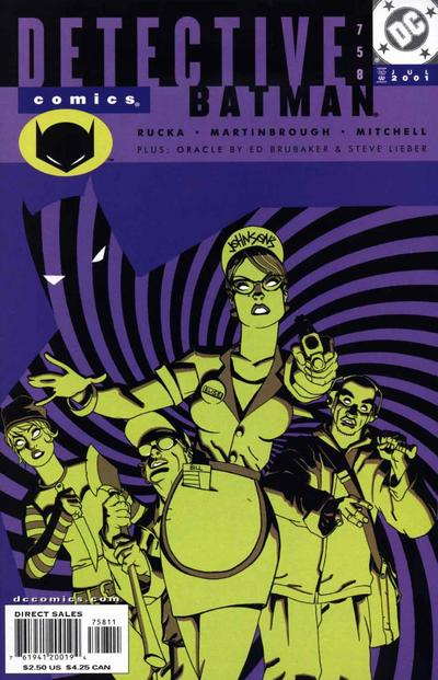 Cover for Detective Comics (DC, 1937 series) #758
