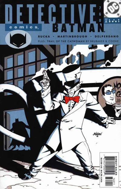 Cover for Detective Comics (DC, 1937 series) #760 [Direct Sales]