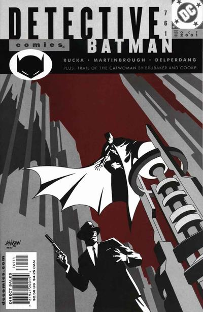 Cover for Detective Comics (DC, 1937 series) #761